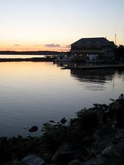 Burlington Harbor  Sunset