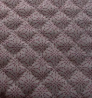 quilted fabric natural star