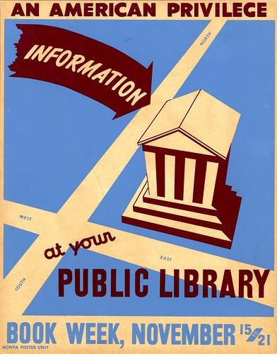 Bibliotecas: internet del pasado... y del futuro. Foto de Marxchivist