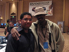 ComboFiend and Chaotic Blue at Evo2k7