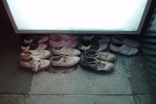 Shoe Vandalism