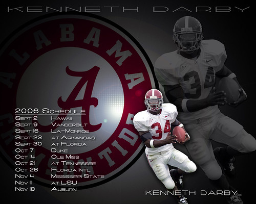 Cellebrity Number One  crimson tide wallpaper