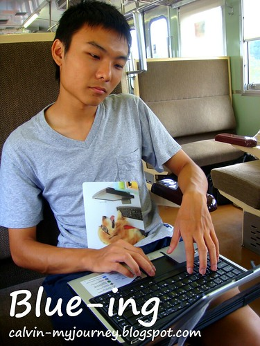 Blue-ing