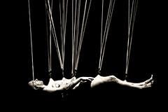 Suspension (Franca Alejandra) Tags: art portraits dance theater body performance bodypaint caracas f preformers
