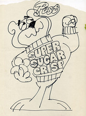 Sugar Bear concept art