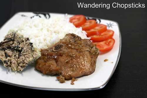 Com Suon Cha Trung (Vietnamese Pork Chops with Steamed Egg Meatloaf) 2