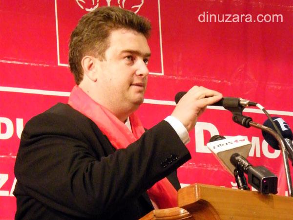 Ioan Cătălin Nechifor, candidatul PSD pentru şefia Consiliului Judeţean Suceava