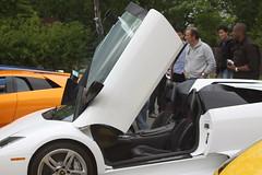 IMG_1044 (Lamborghini obsessed) Tags: paul lamborghini harrington murcielago gallardospyder 5604 lp640 valentinobalboni lp640roadster gallardocoupe dreamcarlegendstour