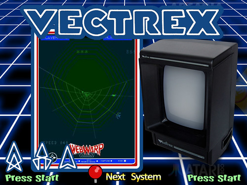 Hyperspin Theme - GCE Vectrex Background (DIYROMArcade)