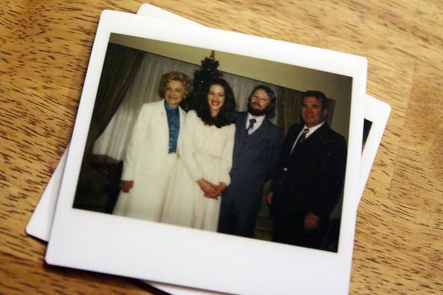 sunny, mom, dad, granddaddy in jackson