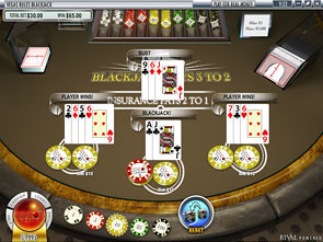 Multi-Line Vegas Rules Blackjack