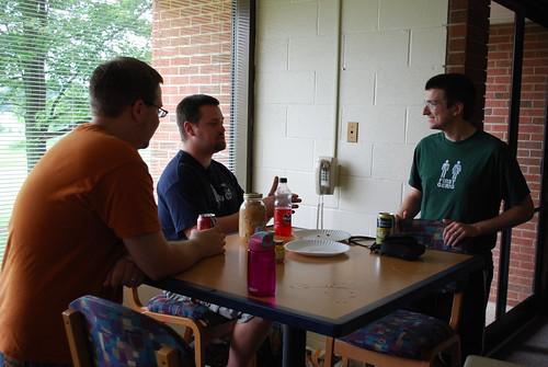 Josh, Frankie, David