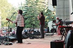 Gomez @ Prince's Island Park. 2009 Calgary Folk Music Festival. (Calgary Folk Festival) Tags: music canada calgary festival photo alberta 2009 gomez calgaryfolkmusicfestival musicfestival cfmf princesislandpark dougcallow