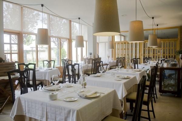 Sala del Restaurante La Casona de Montealegre