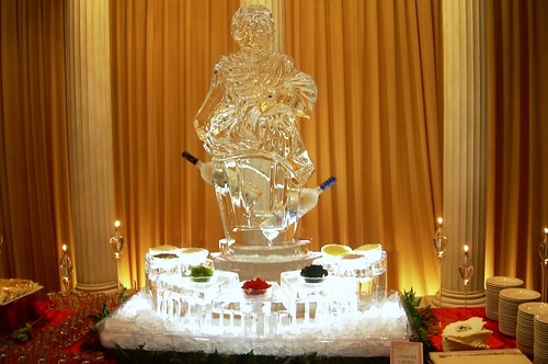 Italian Caviar Station ice sculpture