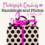 Giveaway at Ramblings and Photos