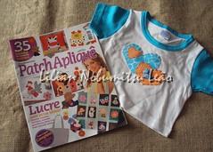 Revista Apliquê - Minuano (Lilian Nobumitsu Leão) Tags: magazine handmade crafts revista artesanato fuxico tutorial passoapasso apliquê pachtcolagem
