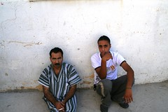two men on a white wall (Michael.Loadenthal) Tags: israel palestine westbank military incursion israelipalestinianconflict israelandpalestine nablusregion askarrefugeecamp militaryinvasion westbankandgazastrip