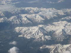 In-flight mountains, #3