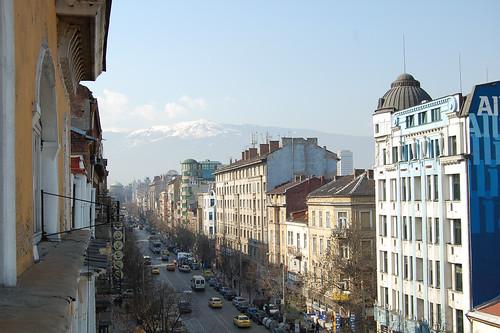 Sofia, capitale della Bulgaria.