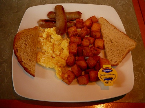 Typical North American Breakfast