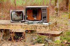 televisores en el merendero