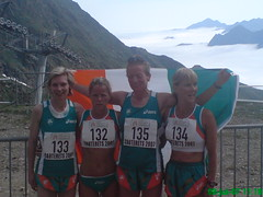 Fiona, Aisling, Trish and Alwynne