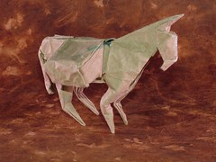 Mule by Daniel Naranjo (EricGjerde) Tags: nyc origami colombia gift convention paperfolding papiroflexia mule 2007 ousa danielnaranjo