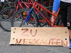 Fahrräder zu verkaufen - Foto: Anne Grieger