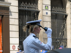 Space Invader PA_552 : Paris 9me (tofz4u) Tags: streetart paris tile mosaic spaceinvader spaceinvaders police cop policewoman invader snapfish mosaque artderue 75009 pa552