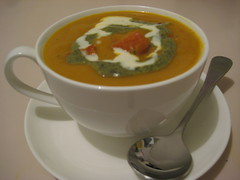 Roast Pumpkin & Garlic Soup