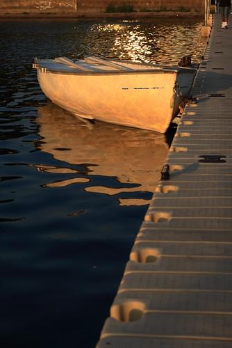 Boat On Calhoun 3537