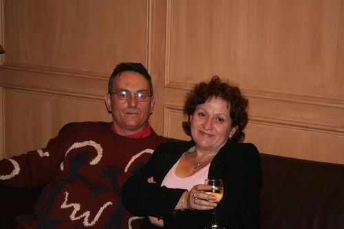 Myself and Barbara