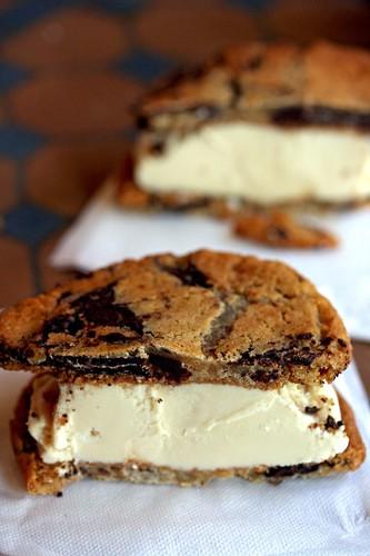 Hazelnut Ice Cream sandwich