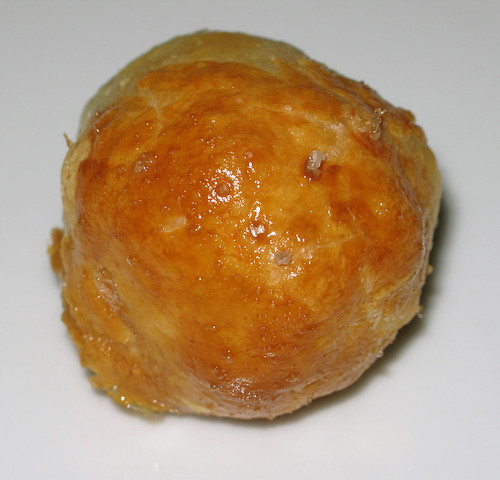 Confit of bacon en croute