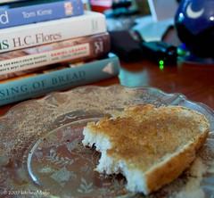 leftover oatmeal bread cinnamon toast