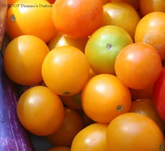 Orange Grape Tomatoes