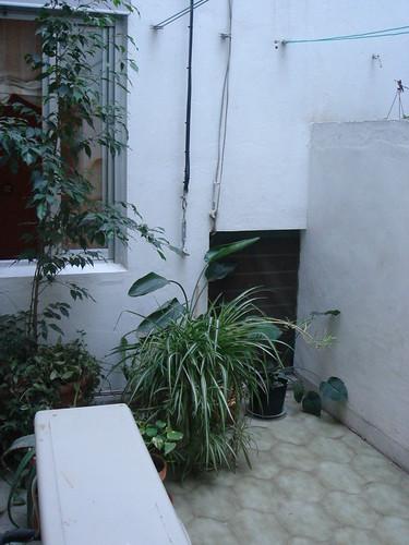 廚房外小陽台