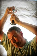 Day 290 - More Pepper (than salt) (Dave77459) Tags: selfportrait canon lomo 28mm gimp sigma dork f18 weddingpresen