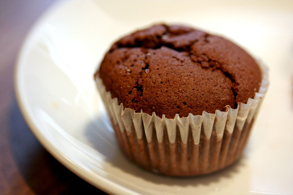 Tiny flourless chocolate cake