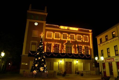Ayuntamiento de Elda en Navidad