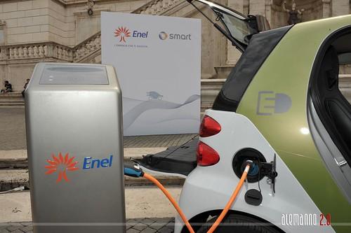 Progetto e-mobility Italy di Smart ed Enel