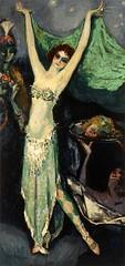 Kees Van Dongen Mademoiselle Geneviève Vix dans le rôle de Salomé 1920