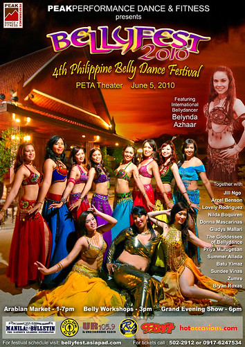BellyFest 2010 : The 4th Philippine Bellydance Festival
