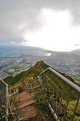 Haiku Stairs 4 (bennyboie) Tags: stairs hawaii heaven haiku oahu stairway to