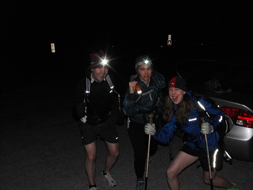 Barry, Anne, Clare Start of R2R Grand Canyon