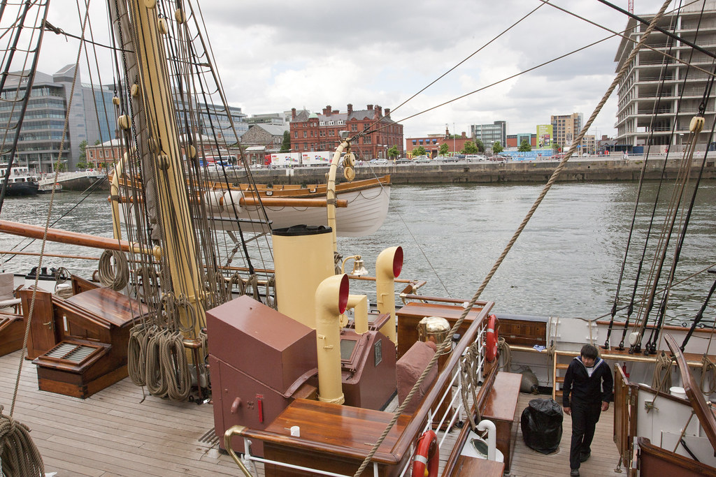 The Georg Stage II is a Danish full-rigged sailing ship with a steel hull