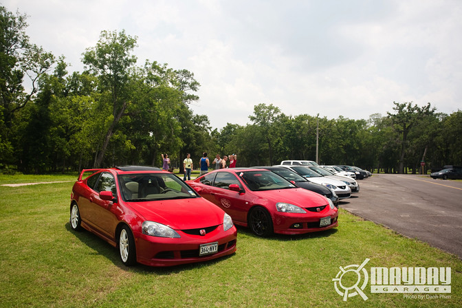 From Basic to fully tuned, the amount of cars was endless