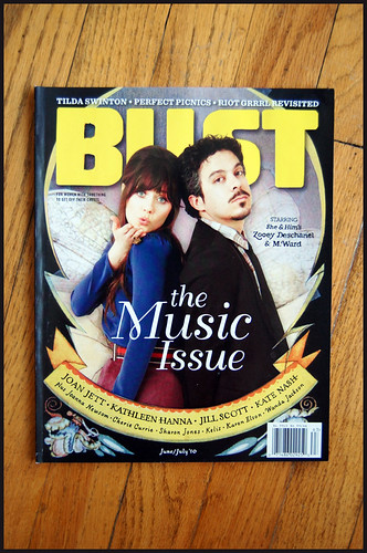 BUST looks column june/july 2010