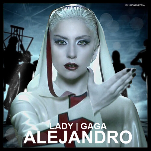 lady gaga fame monster alejandro. Lady Gaga The Fame Monster